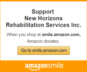 Amazon Smile - Donate to New Horizons Rehabilitation