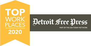 Detroit Free Press Top Work Places 2020